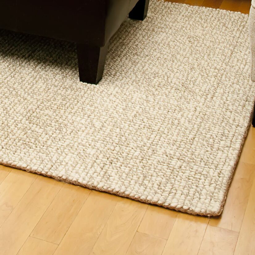 Branchdale Hand-Woven Beige Area Rug Rug Size: Rectangle 3' x 5'