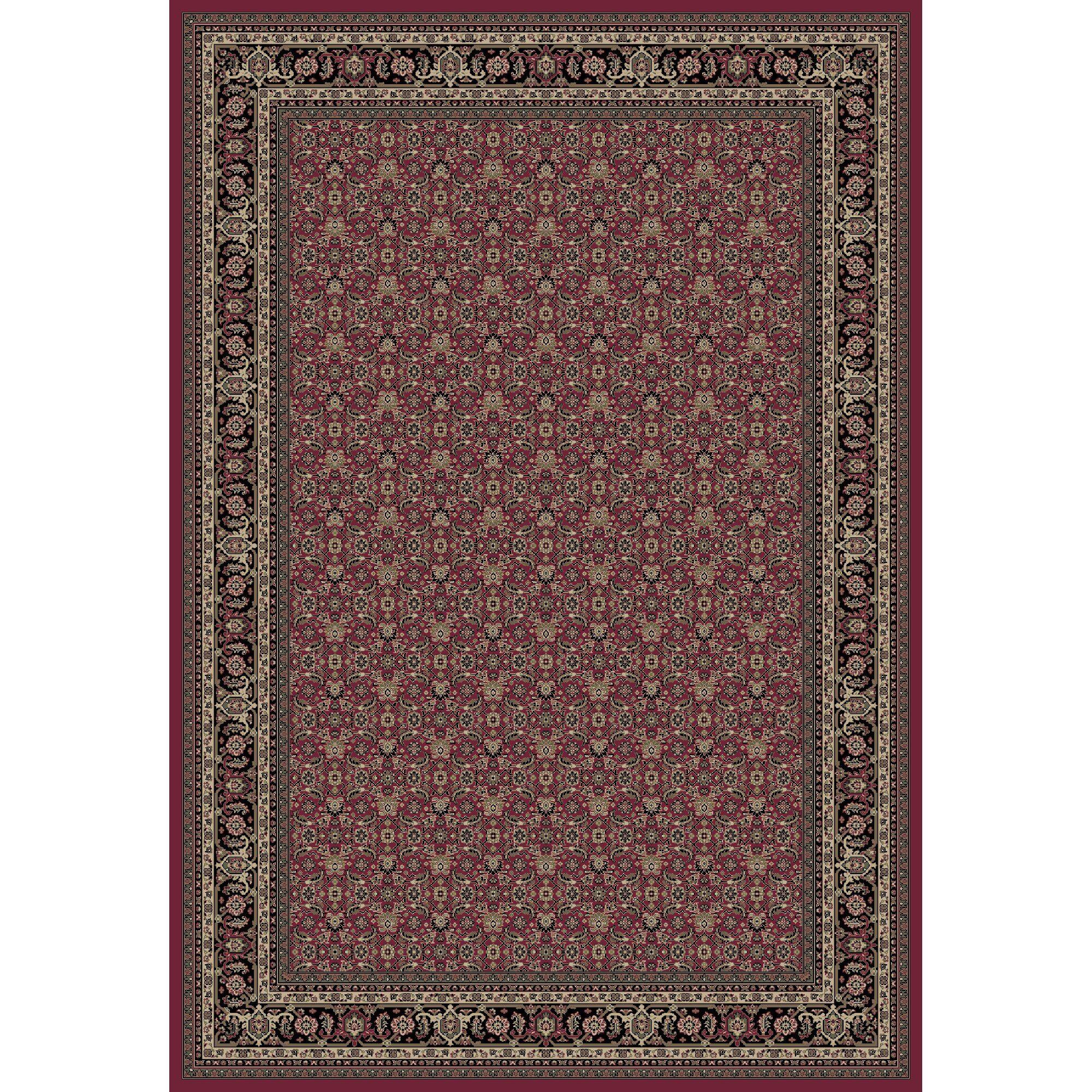 Persian Classics Herati Red Area Rug Rug Size: 7'10