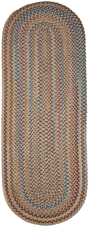 Handmade Orange Area Rug Rug Size: Runner 2' x 6'