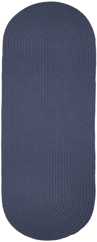 Handmade Sailor Blue Area Rug Rug Size: Runner 2' x 6'