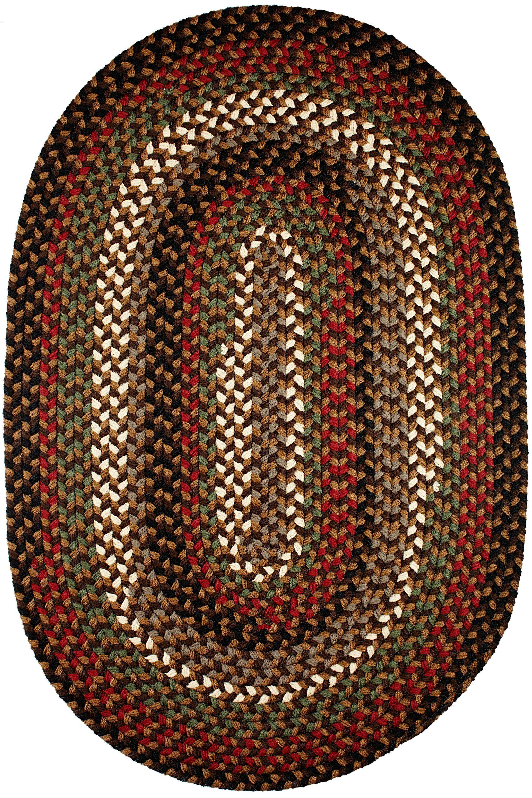 Handmade Indoor/Outdoor Area Rug Rug Size: Oval 8' x 11'
