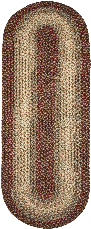 Handmade Indoor/Outdoor Area Rug Rug Size: Runner 2' x 8'
