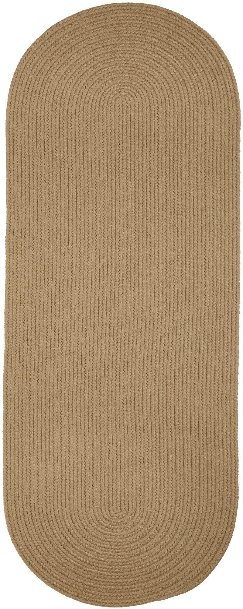 Handmade Taupe Area Rug Rug Size: Runner 2' x 6'