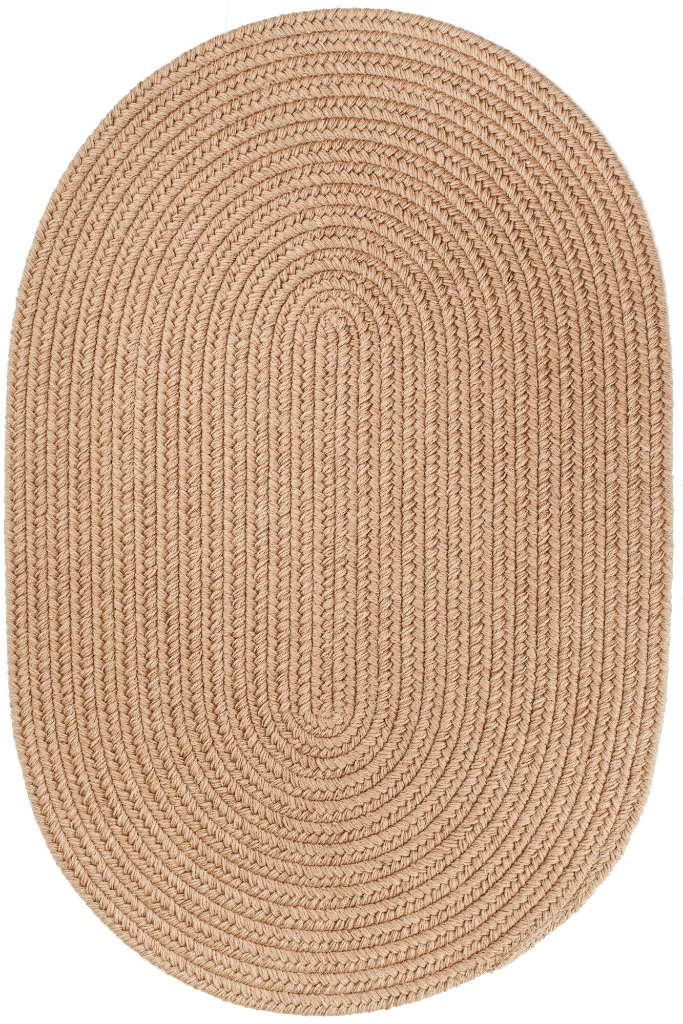Handmade Taupe Area Rug Rug Size: Runner 2' x 8'
