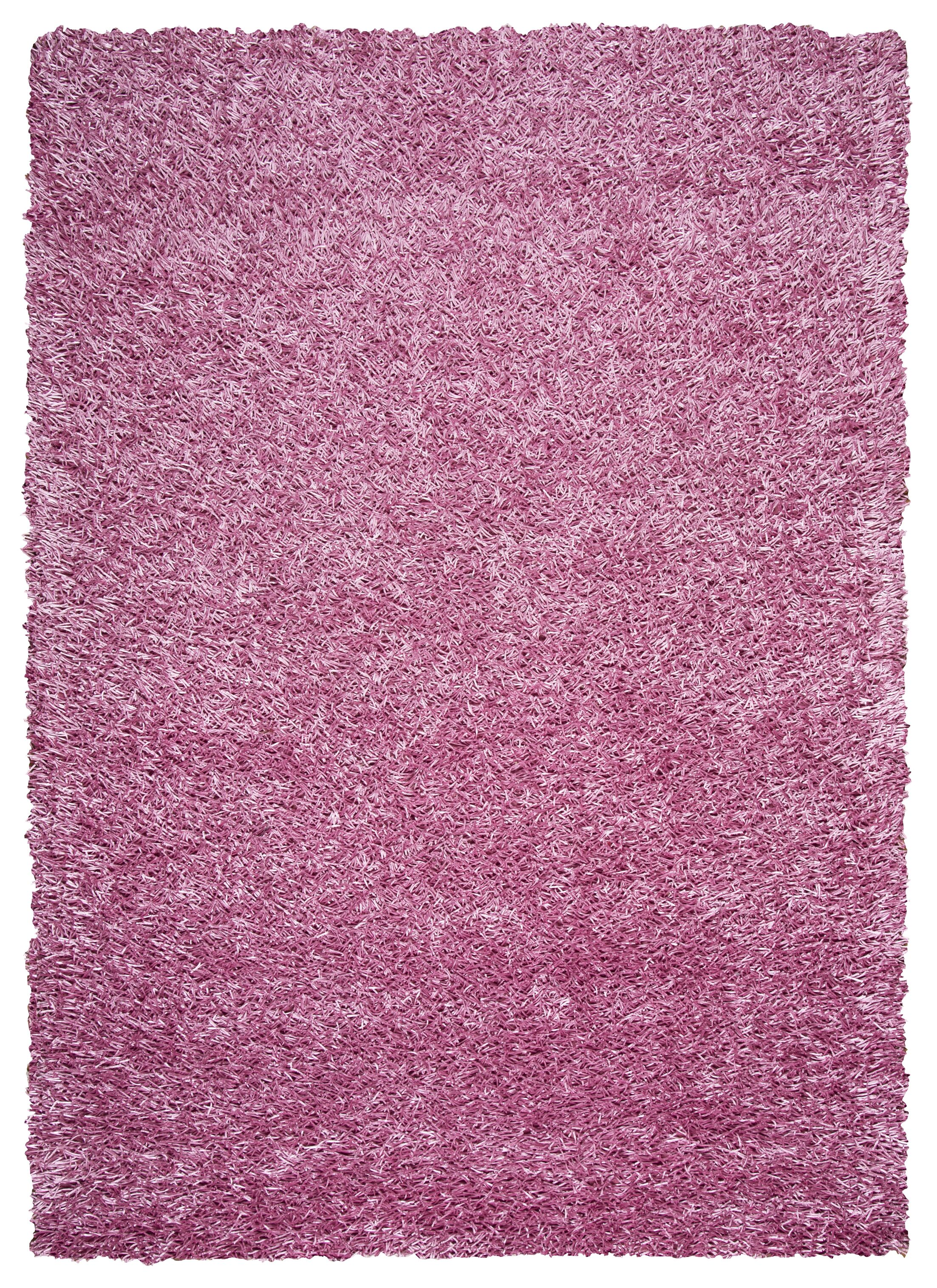 Hand-Tufted Pink Area Rug Rug Size: Rectangle 5' x 7'
