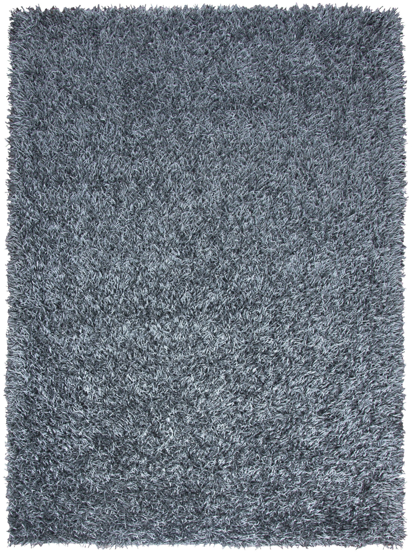 Georgia Handmade Blue Area Rug Rug Size: Rectangle 5' x 7'