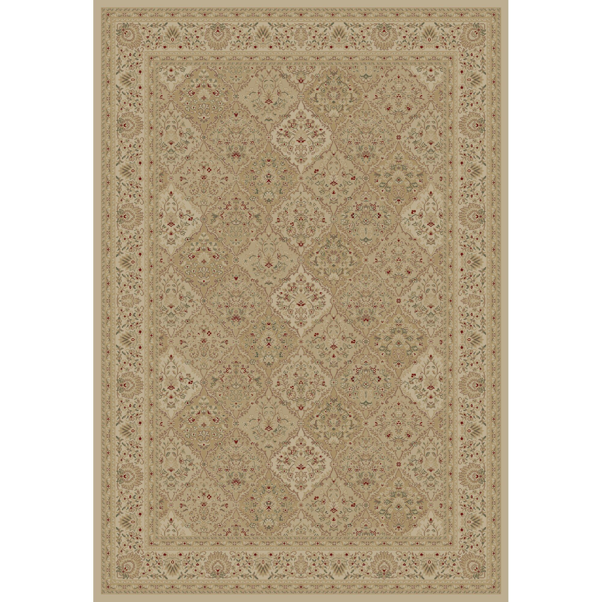Mantra Ivory Oriental Rectangular Rug Rug Size: Rectangle 6'7