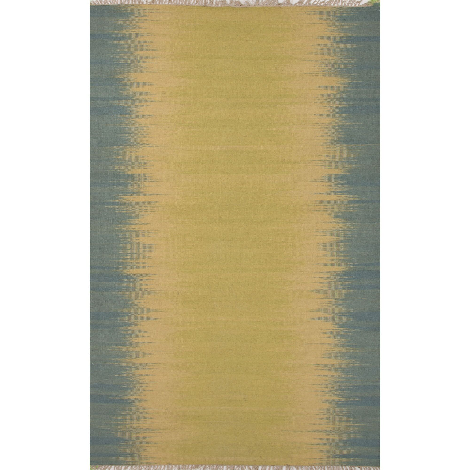 Pilkhuwa Linden  Beige/Blue Area Rug Rug Size: 5' x 8'