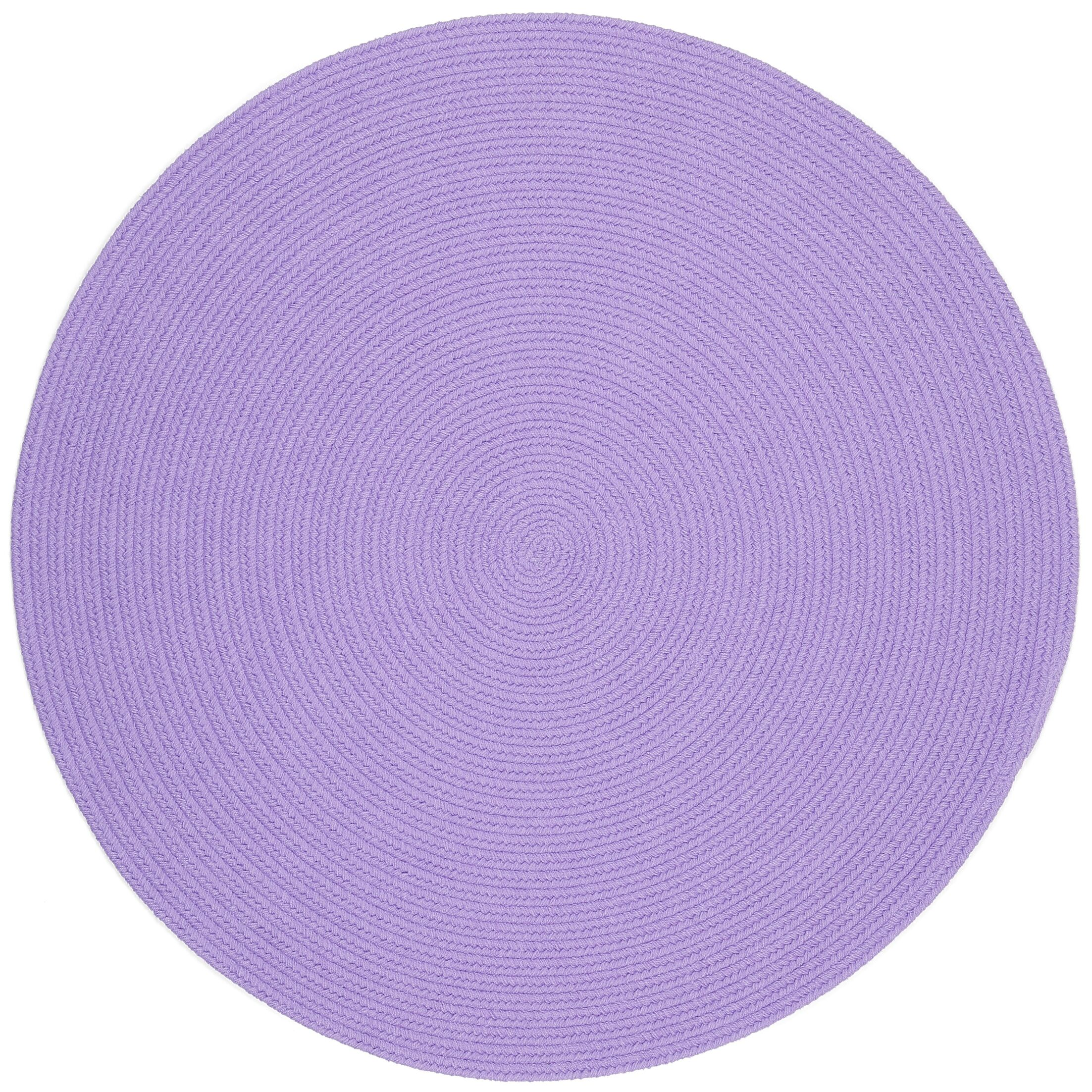 Sainthia Violet Indoor/Outdoor Area Rug Rug Size: Round 8'