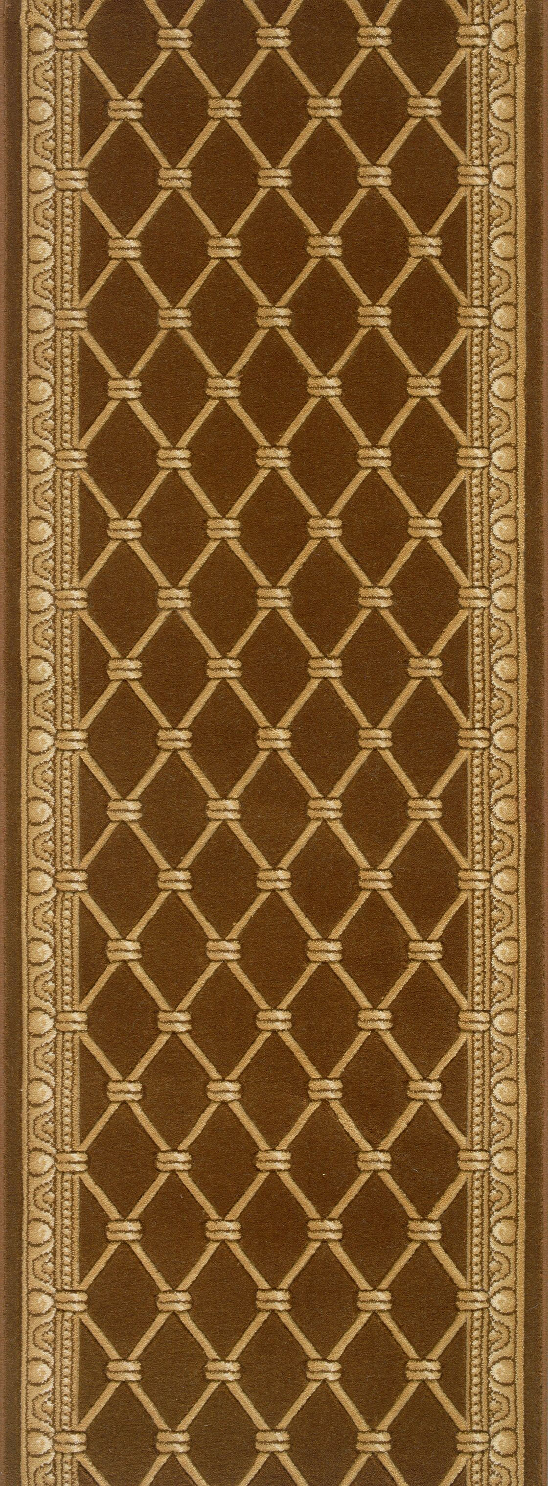 Sindagi Brown Area Rug Rug Size: Runner 2'2
