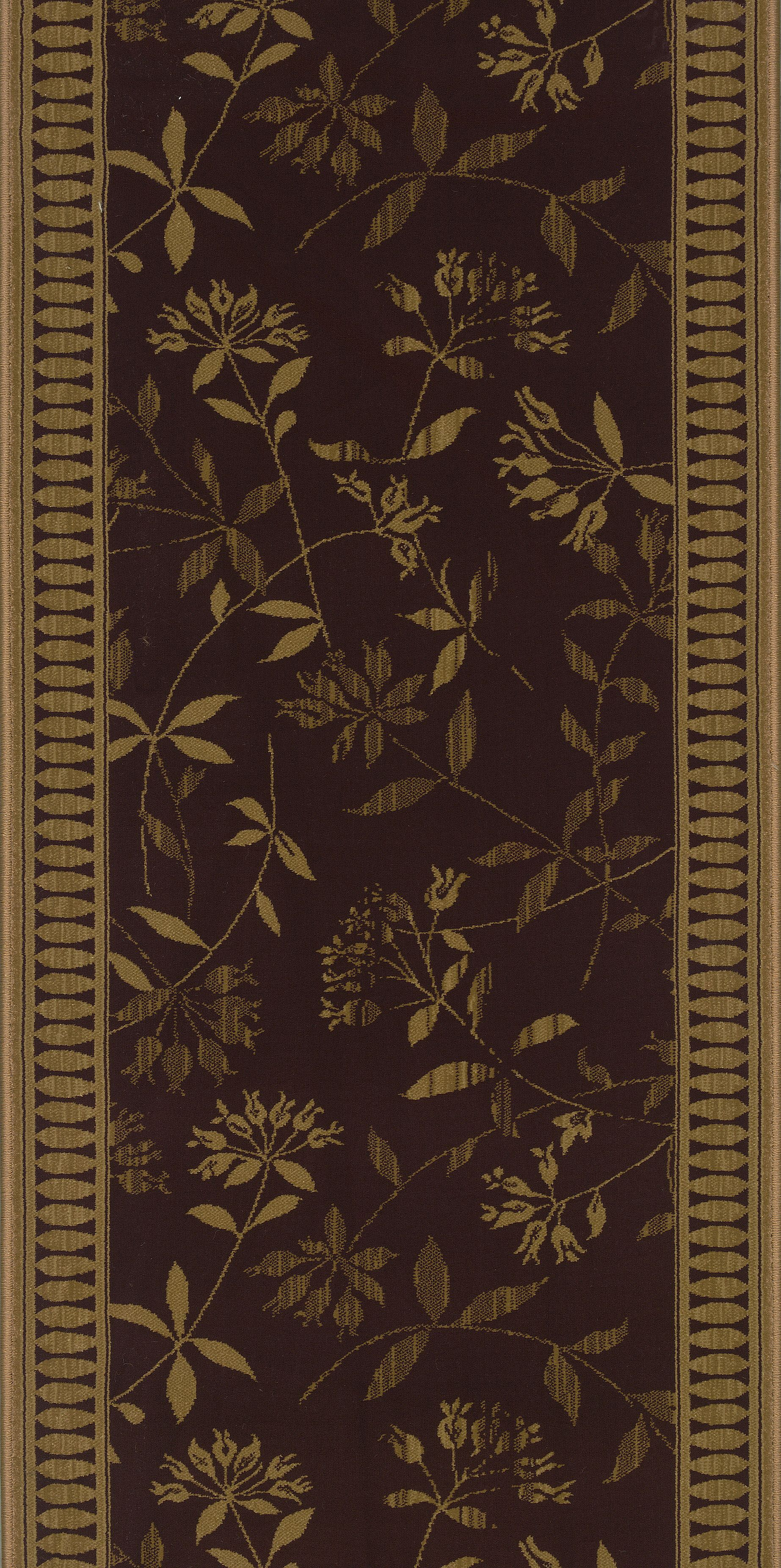 Sanduru Brown Area Rug Rug Size: Runner 2'2