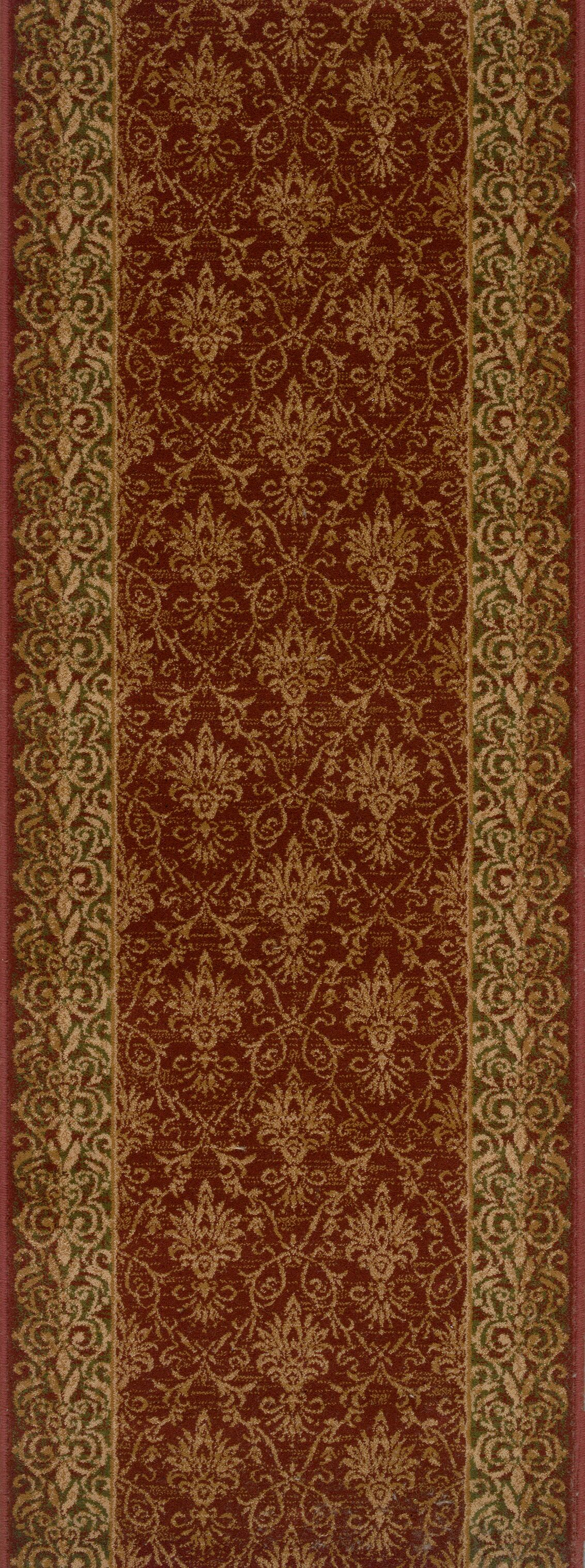 Sausar Red Area Rug Rug Size: Runner 2'7