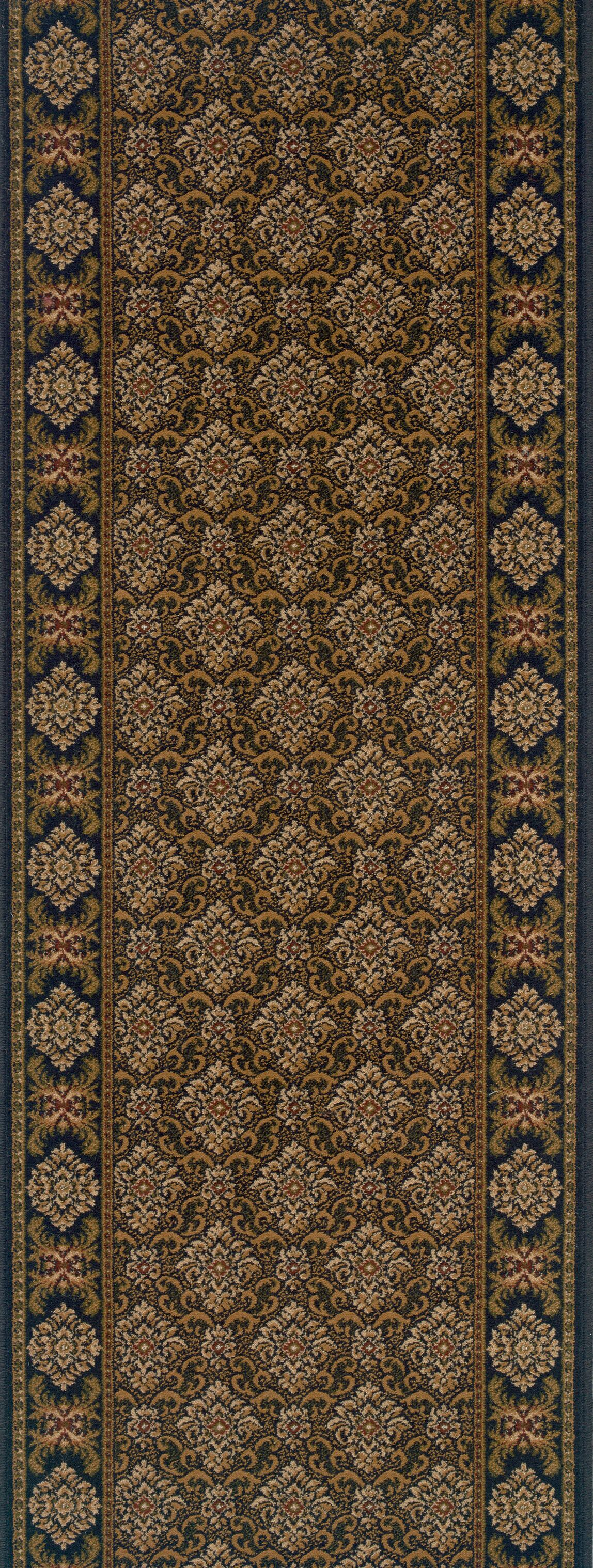 Shahbad Brown Area Rug Rug Size: Runner 2'7