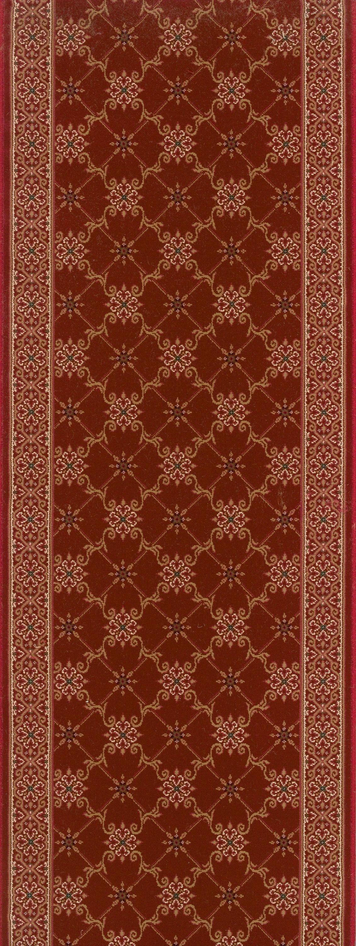 Shajapur Red Area Rug Rug Size: Runner 2'2