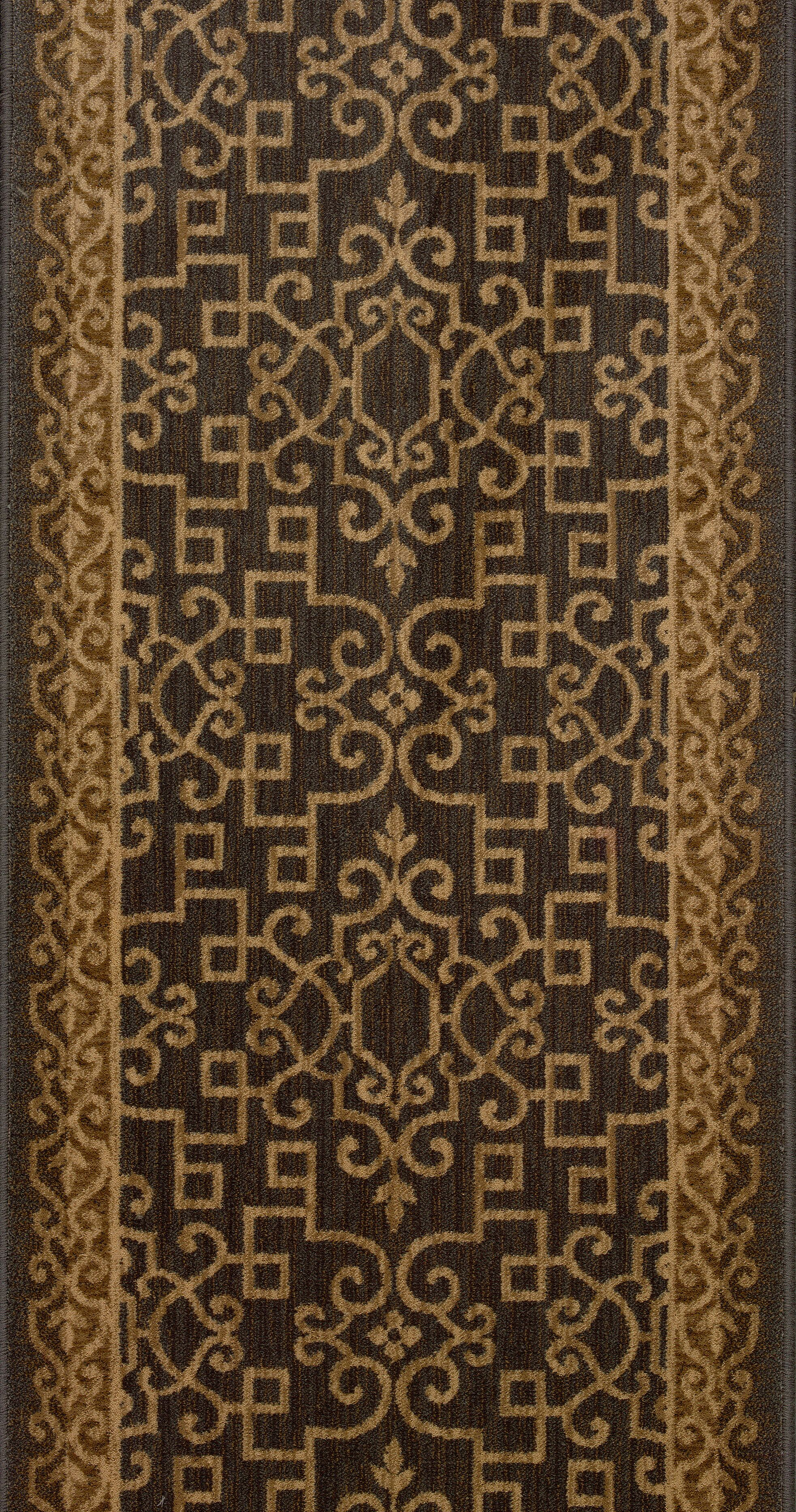 Shrirampur Brown Area Rug Rug Size: Runner 2'7