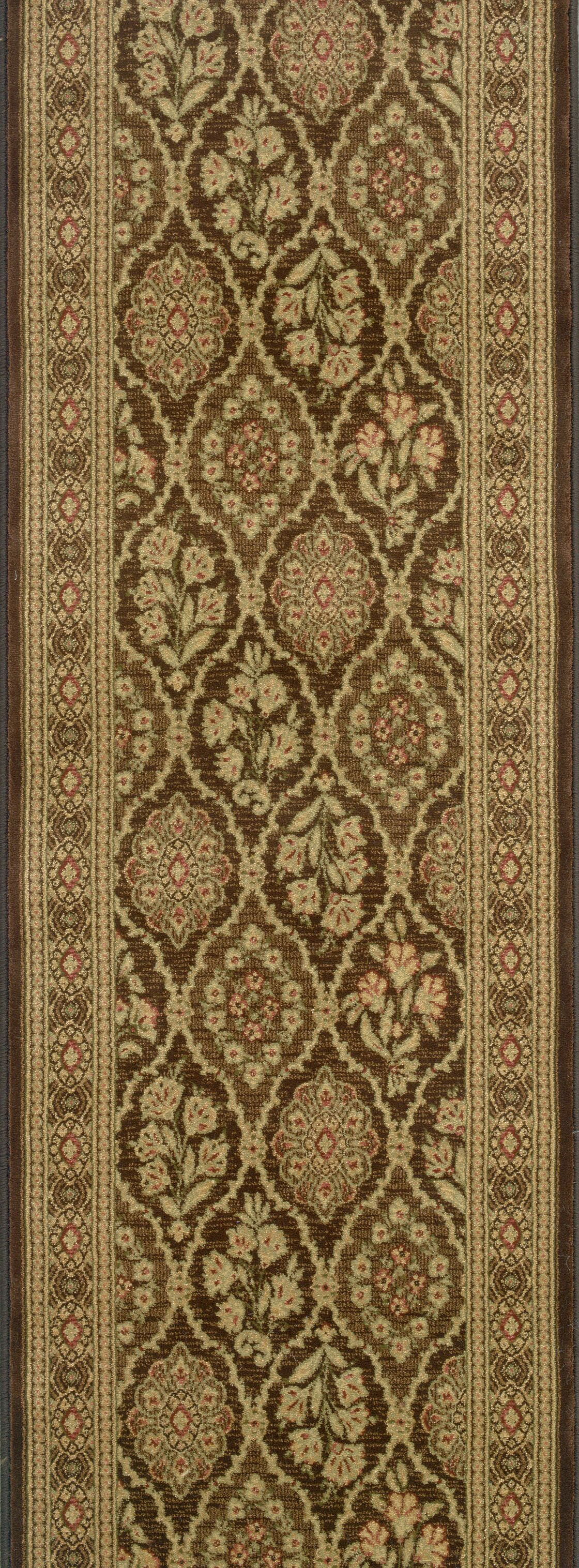 Siddipet Chocolate Area Rug Rug Size: Runner 2'2