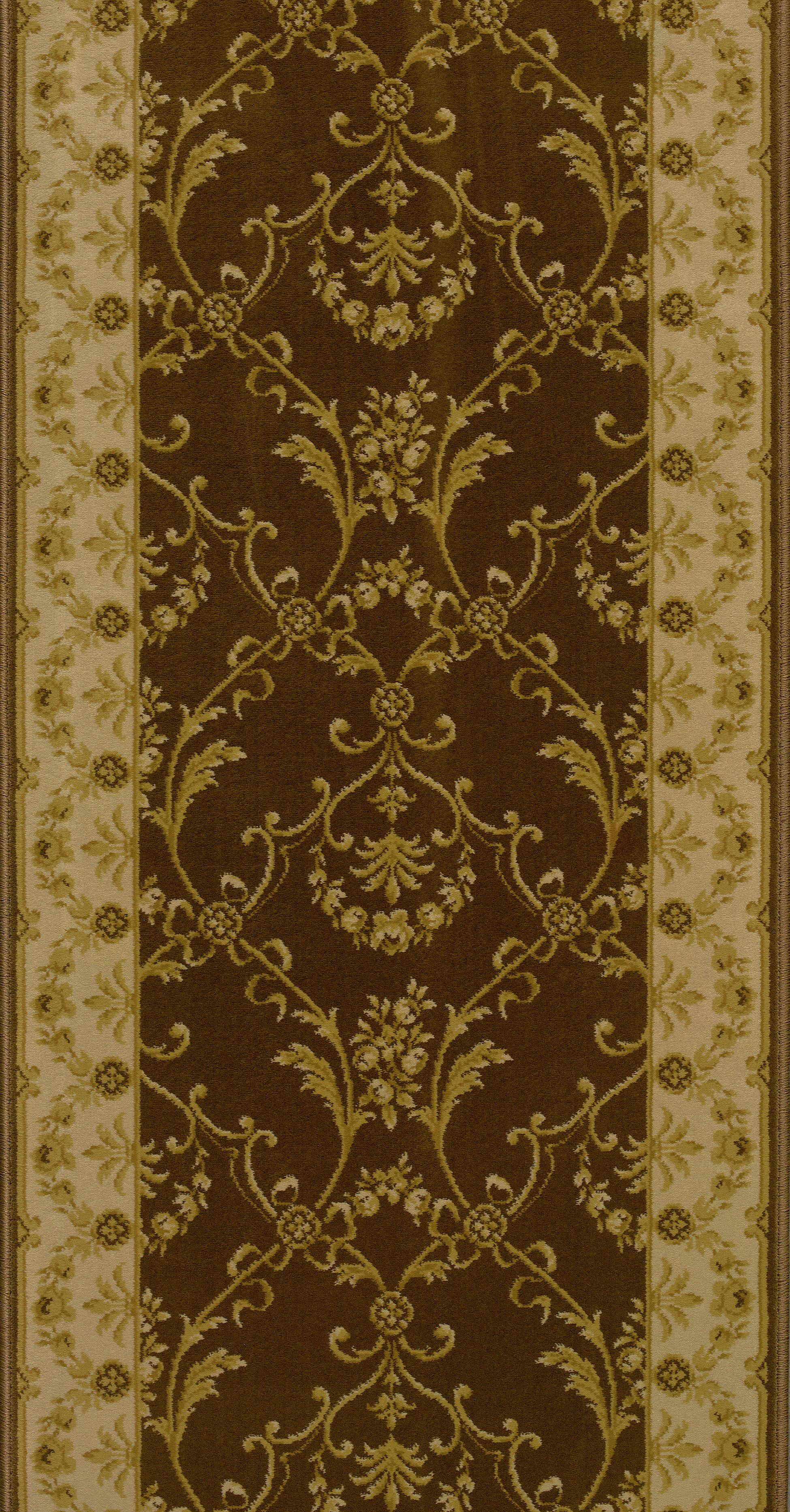 Sirohi Brown Area Rug Rug Size: Runner 2'7