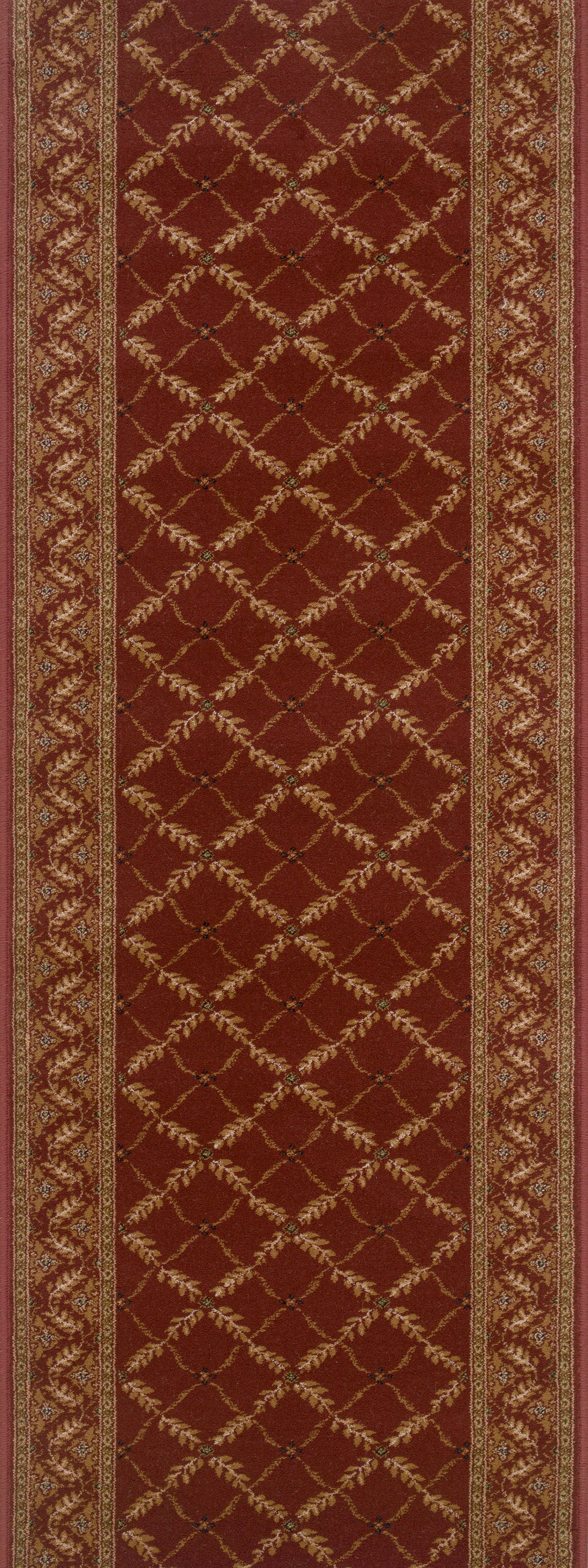Sitarganj Red Area Rug Rug Size: Runner 2'2