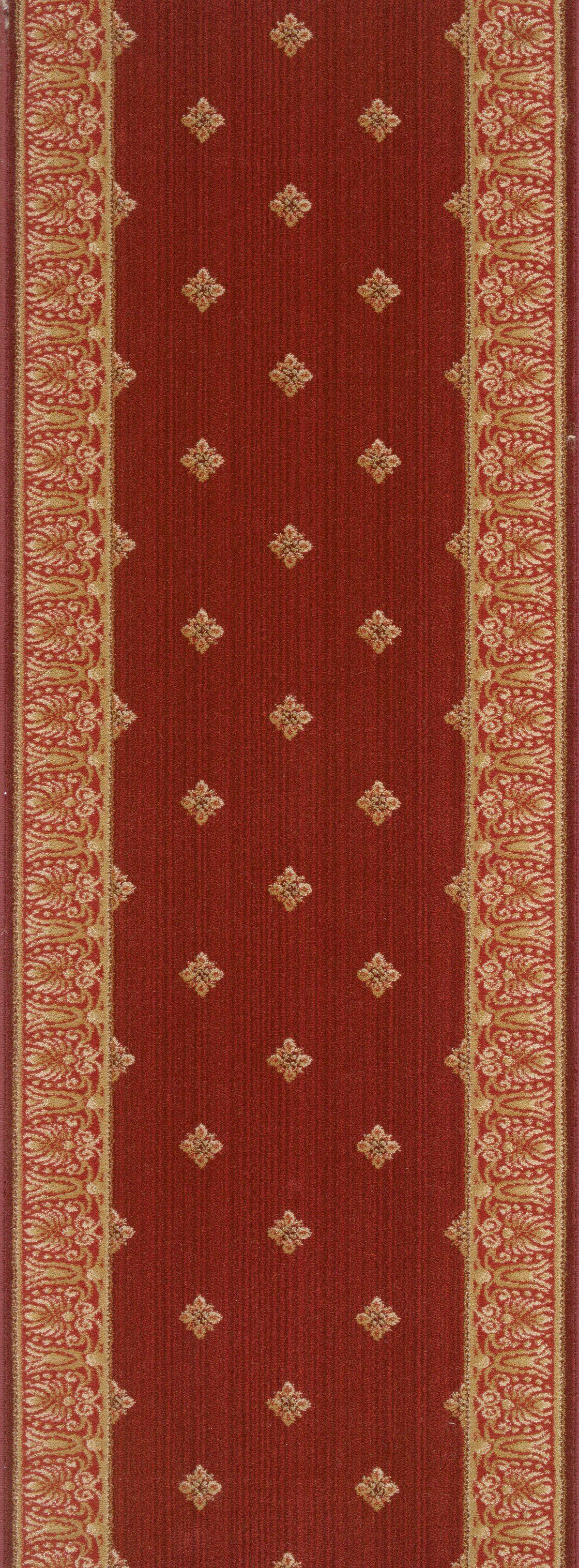 Madhopur Red Area Rug Rug Size: Runner 2'2