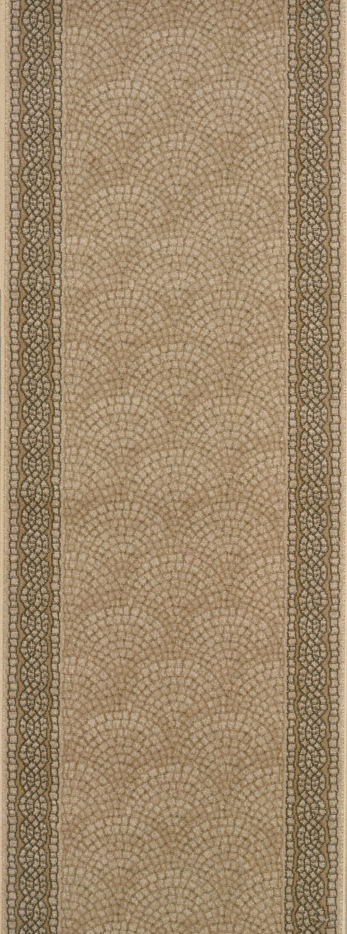 Srisailam Tan Area Rug Rug Size: Runner 2'7