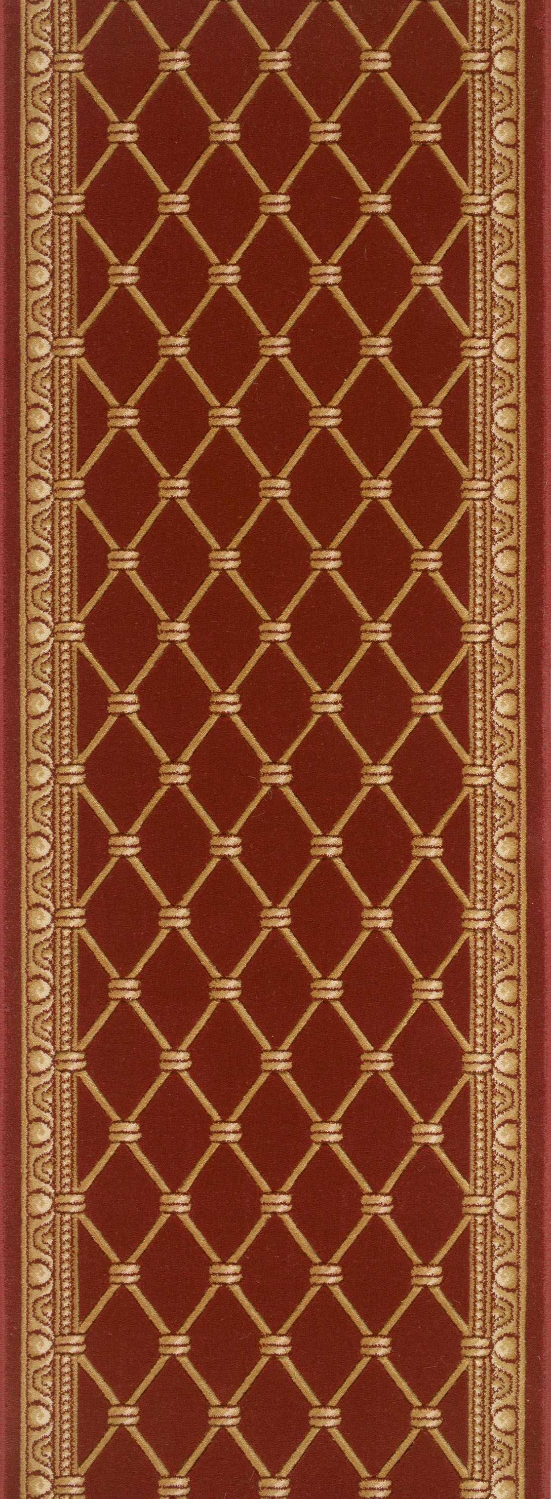 Township Red Area Rug Rug Size: Runner 2'7