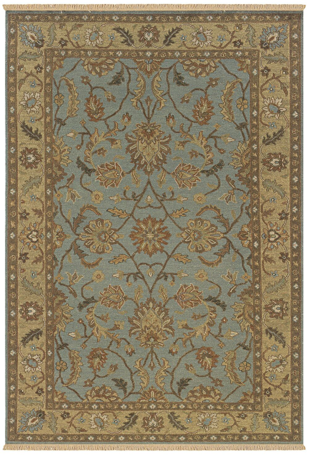 Washim Hand-Woven Light Blue Area Rug Rug Size: Runner 2'6