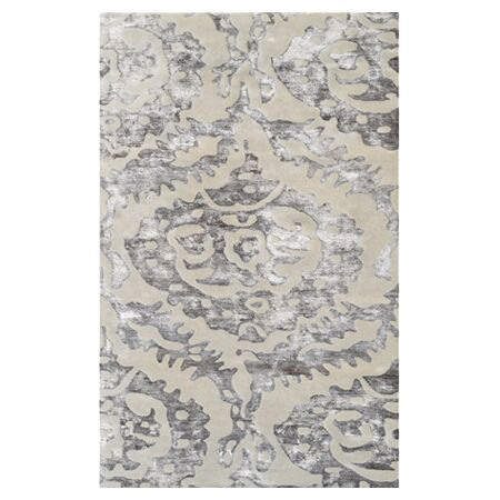 Livorno Hand-Tufted Brown Area Rug Rug Size: 8' x 11'