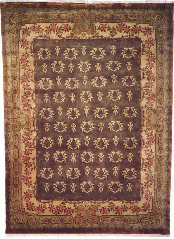 Anne Hand-Woven Antique Green Area Rug Rug Size: Square 4'