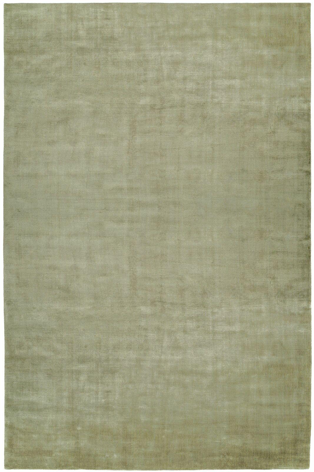 Bhatia Hand-Woven Green Area Rug Rug Size: 8' x 10'