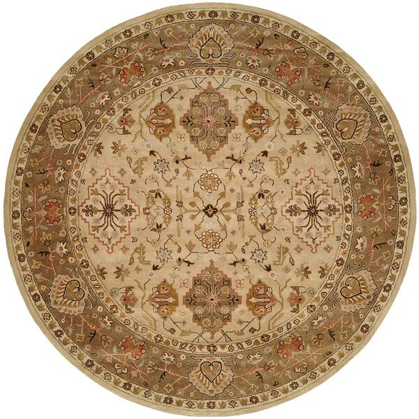 Boase Hand-Woven Beige/Brown  Area Rug Rug Size: Runner 2'6
