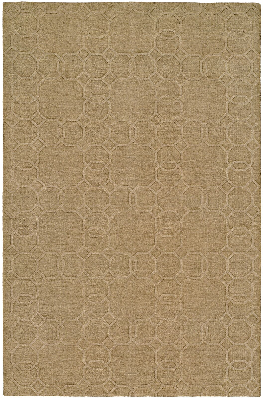 Buch Hand-Woven Beige Area Rug Rug Size: 9'6