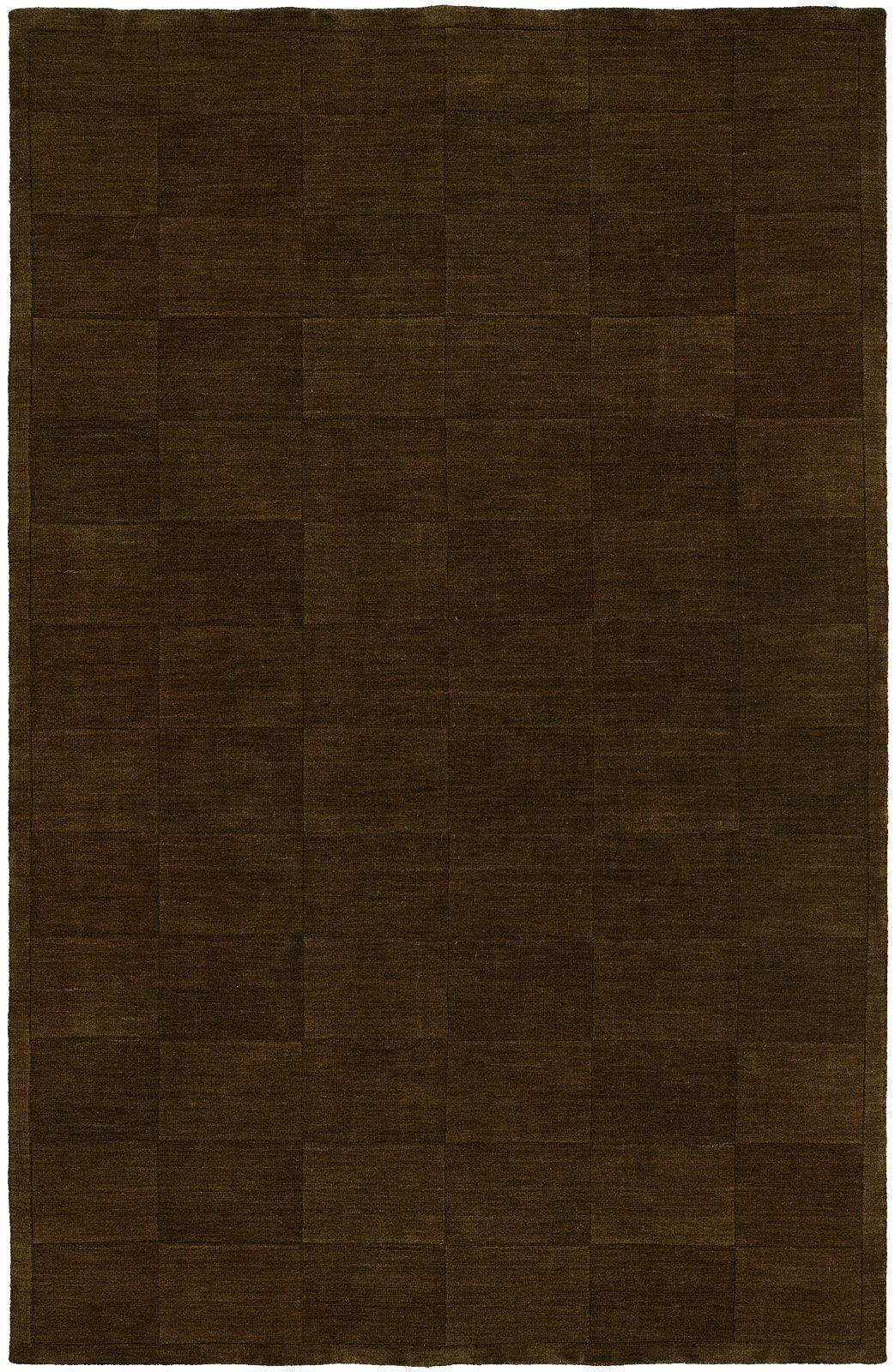 Chadha Hand-Woven Brown Area Rug Rug Size: 8' x 10'