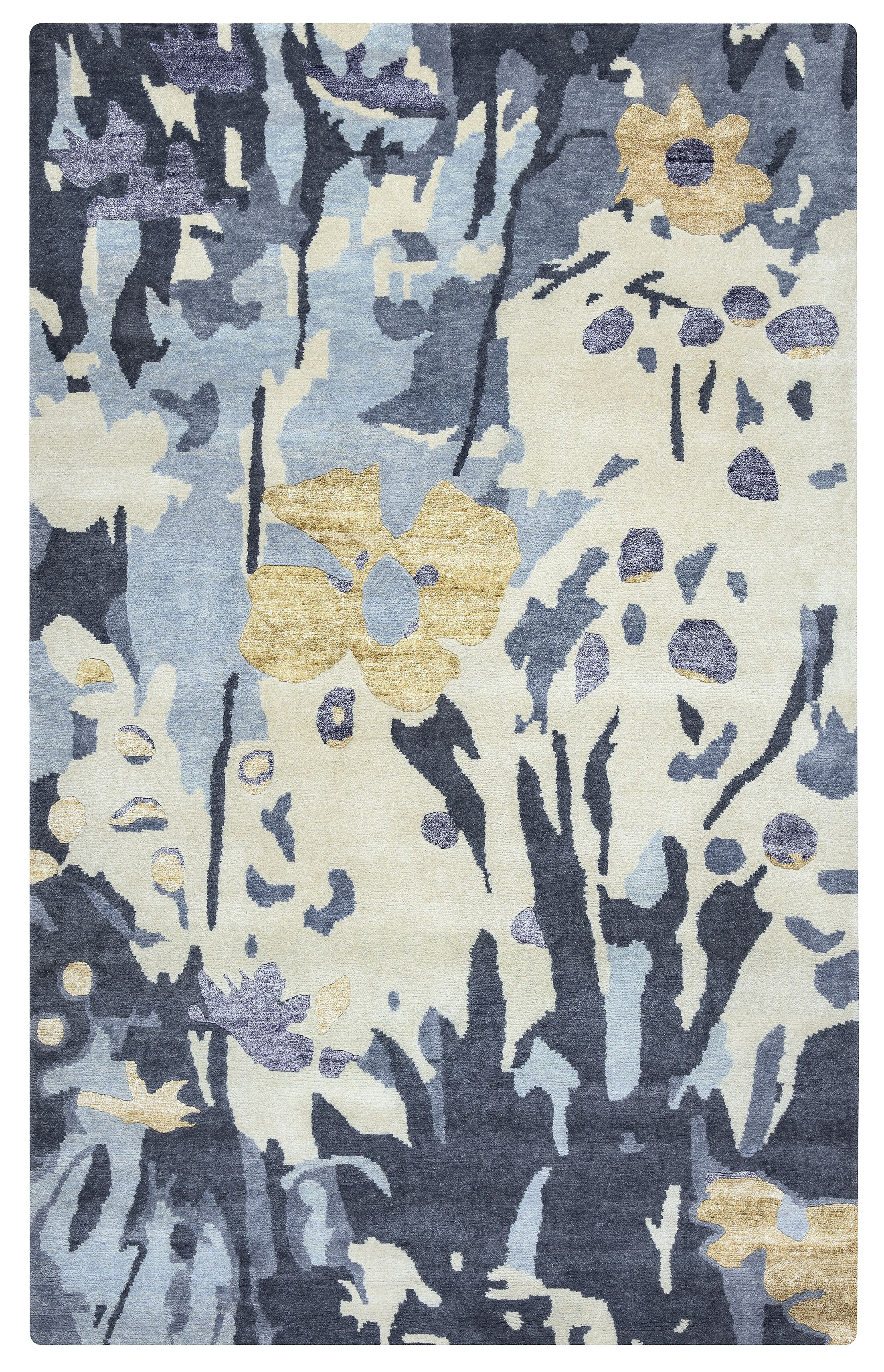 Haiti Hand-Knotted Area Rug Rug Size: Rectangle 8' x 10'