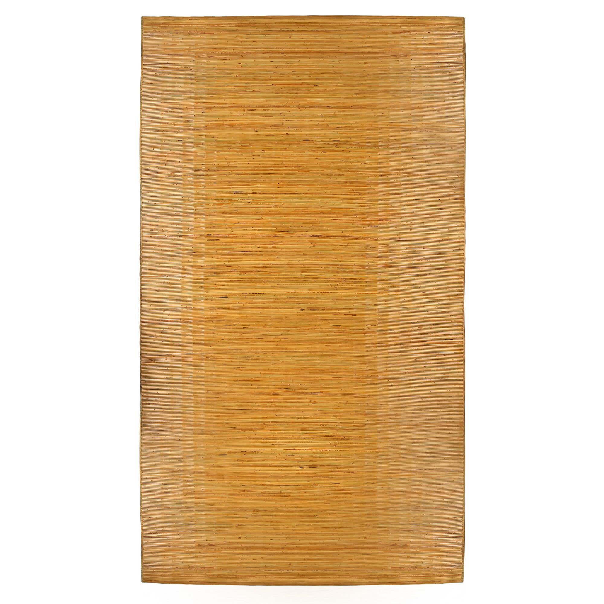 Arvilla Bali Hand-Woven Brown Area Rug Size: 5' x 8'