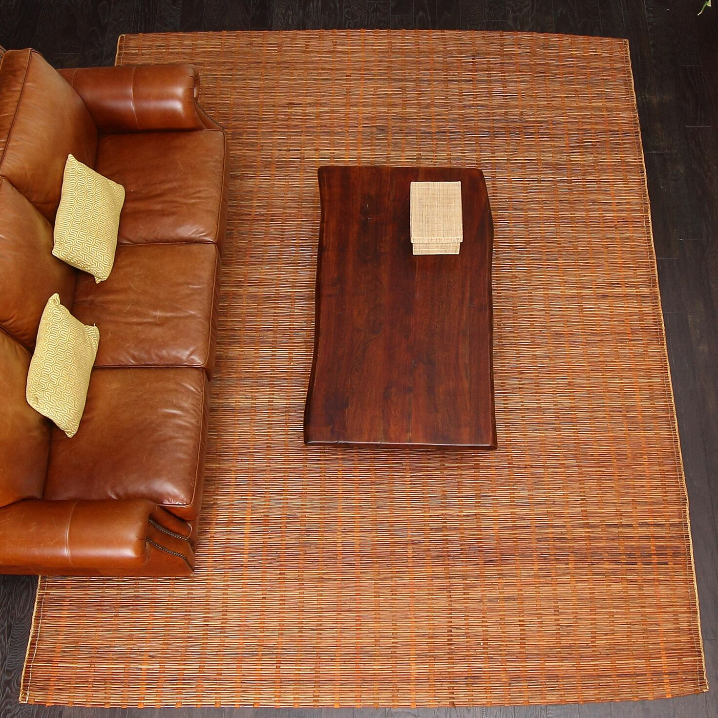 Chemung Natural Hand Woven Brown Area Rug Rug Size: 9' X 12'