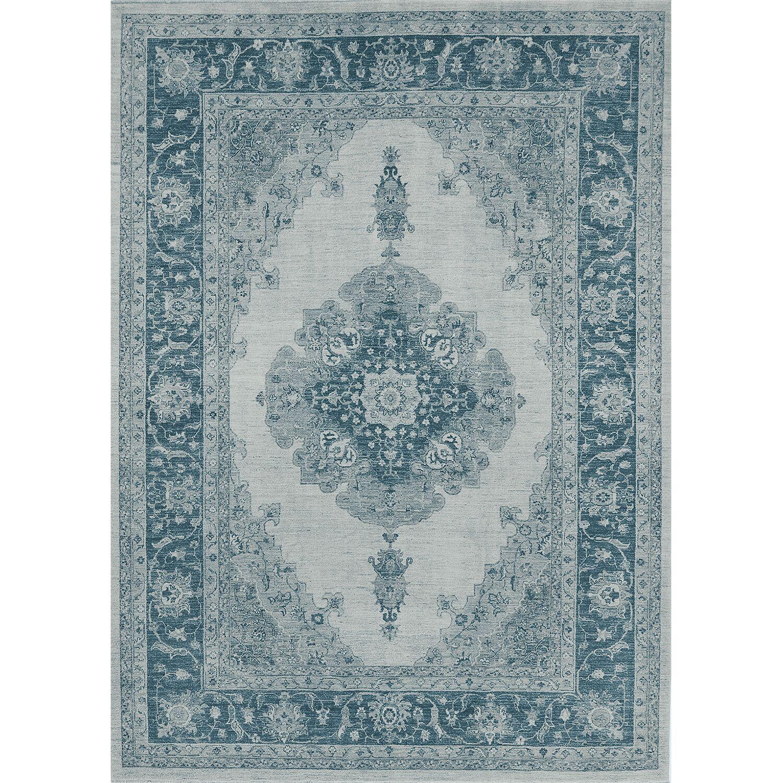 Parisa Blue Indoor/Outdoor Area Rug Rug Size: 5' x 7'