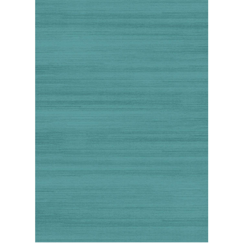 Solid Textured Ocean Blue Indoor/Outdoor Area Rug Rug Size: 5' x 7'