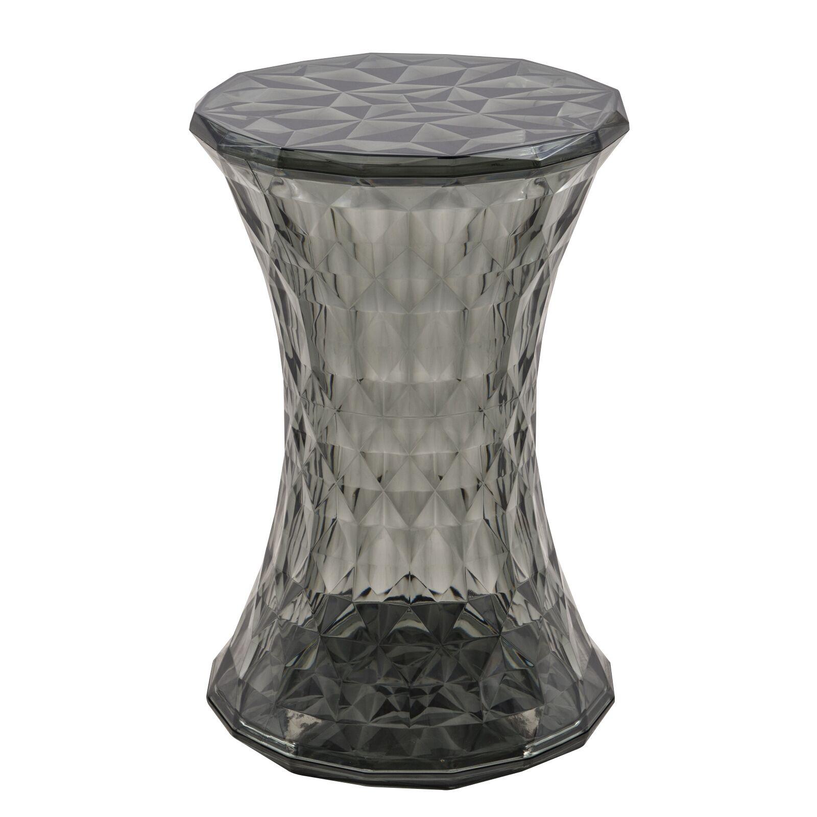 Noble End Table Color: Transparent Black