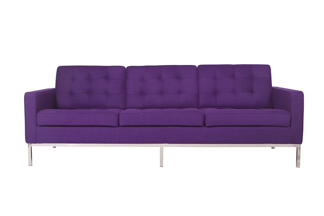 Lorane Sofa Upholstery: Purple