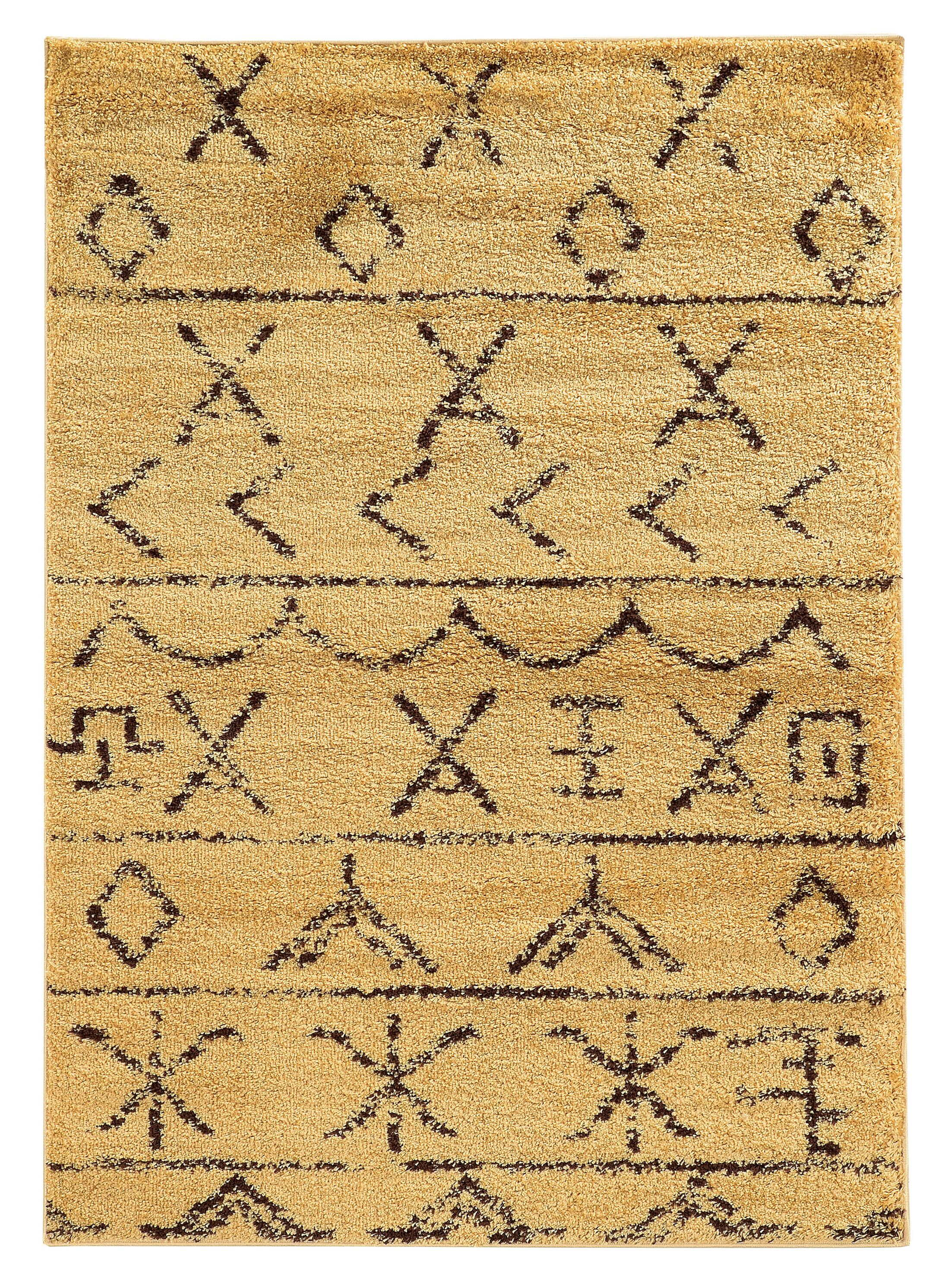 Westland Camel/Brown Area Rug Rug Size: Rectangle 8' x 10'