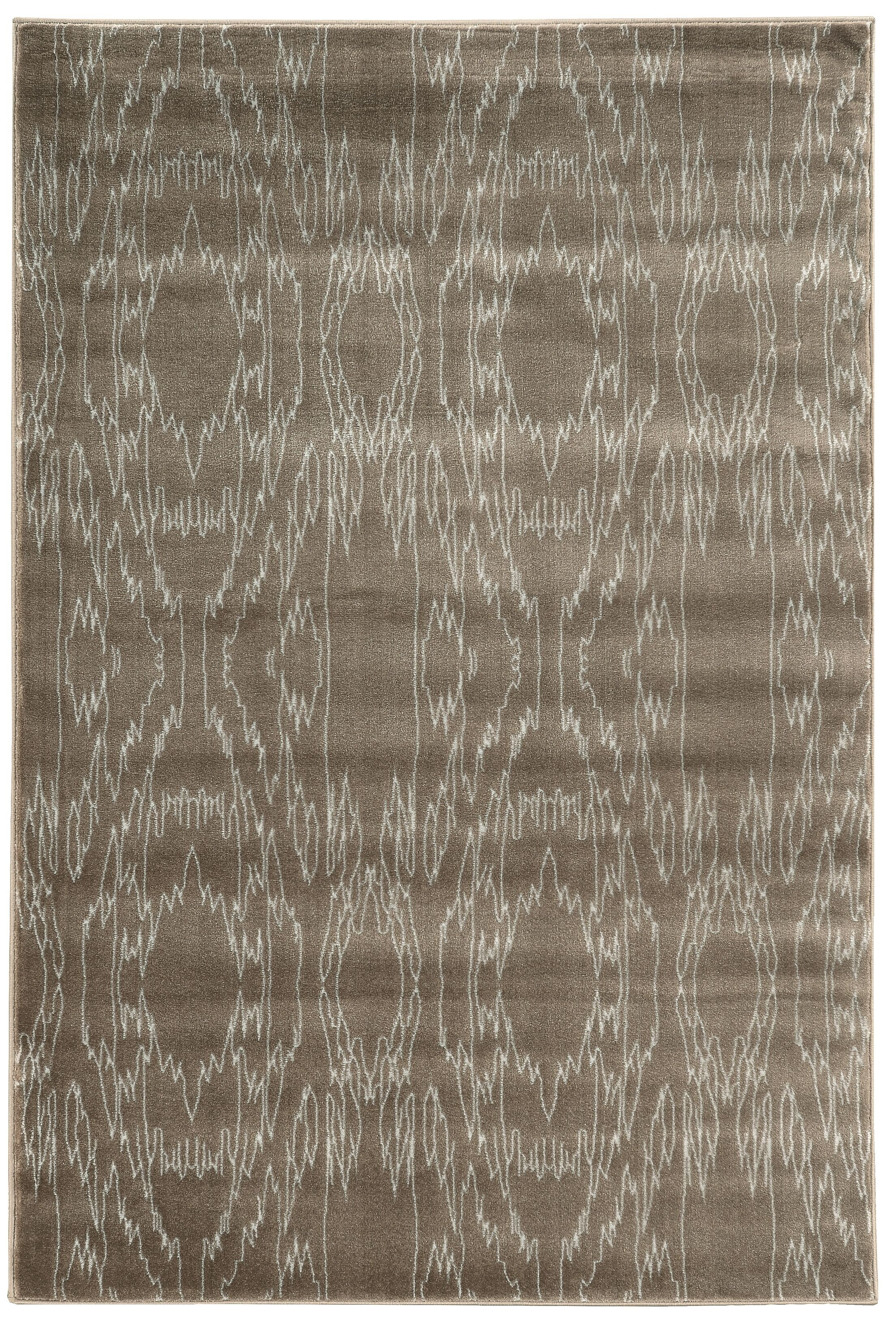 Lucinda Dark Brown Area Rug Rug Size: Rectangle 8' x 10'