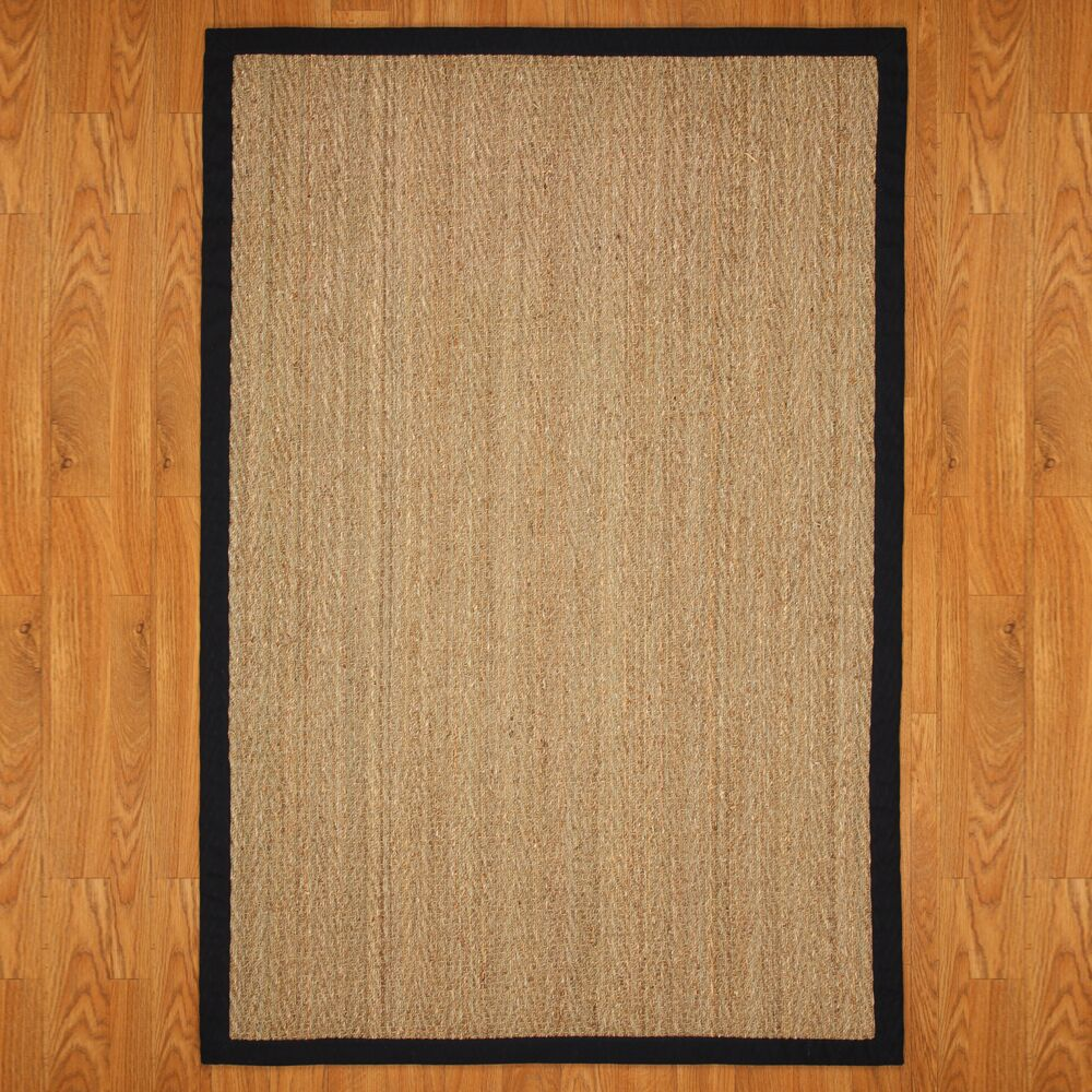 Alland Hand-Woven Brown Indoor Area Rug Rug Size: Rectangle 5' x 8'