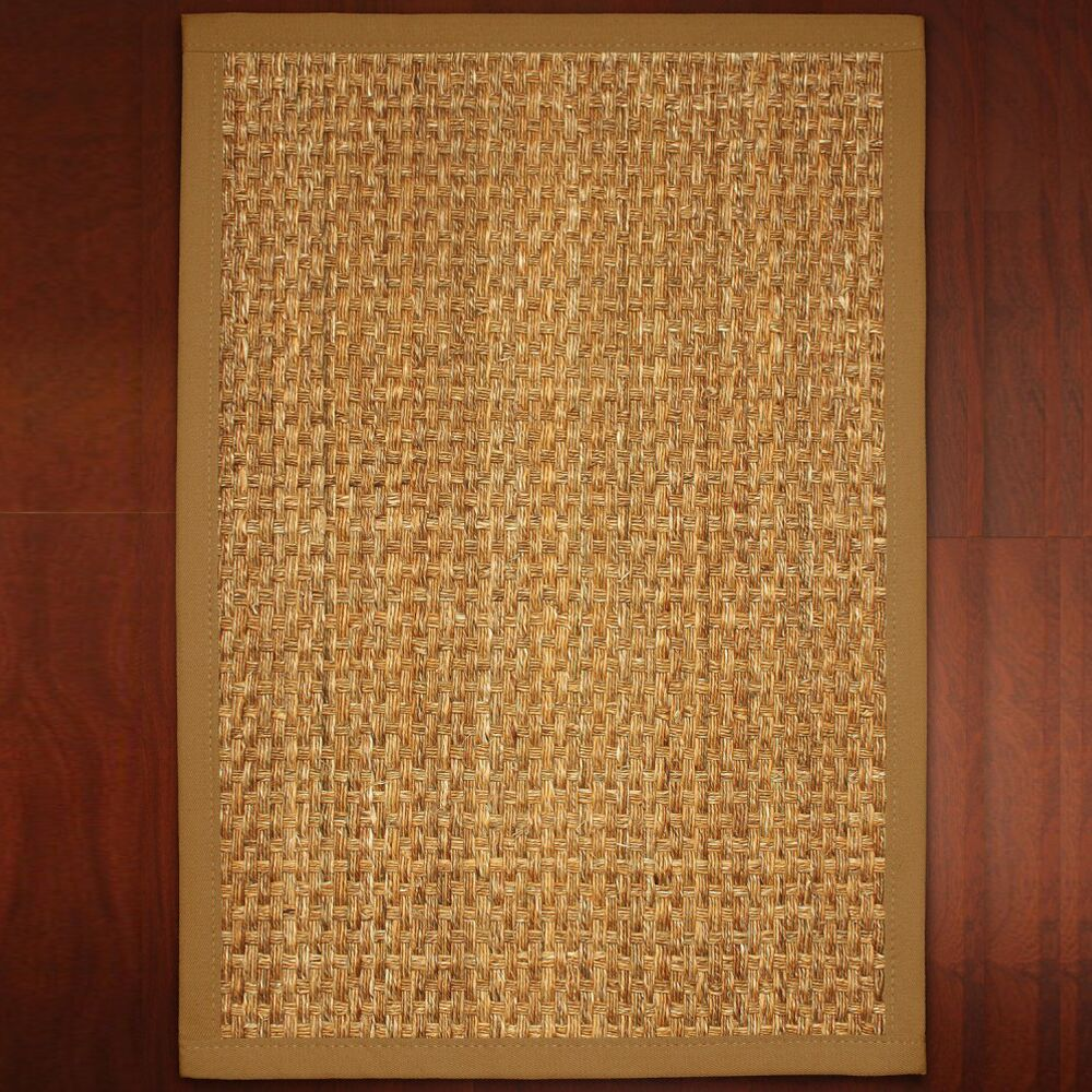 Abigail Hand-Woven Brown Area Rug Rug Size: Rectangle 8' x 10'