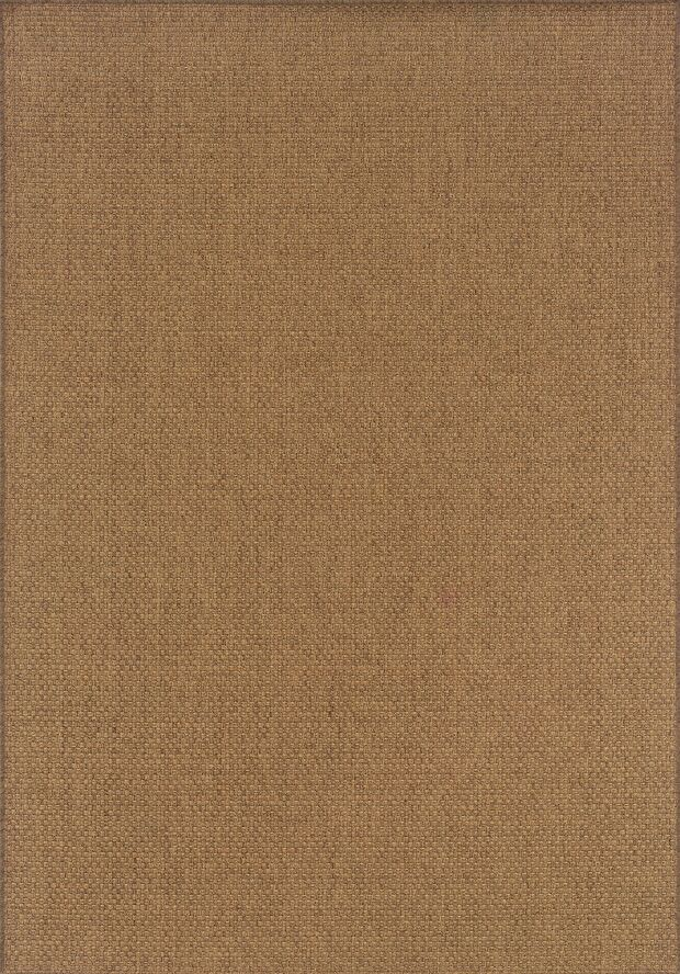 Nathalia Tan Indoor/Outdoor Area Rug Rug Size: Rectangle 6'7
