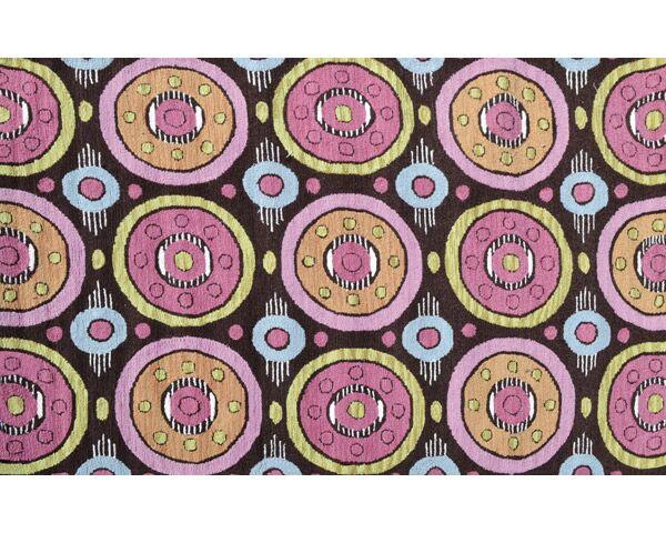 Felix Hand-Woven Pink/Brown Indoor/Outdoor Area Rug Rug Size: Rectangle 5' x 7'6
