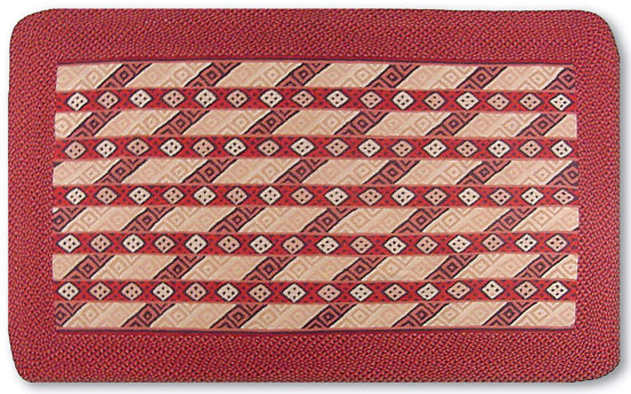 Williamson Red Area Rug Rug Size: Rectangle 8' x 11'