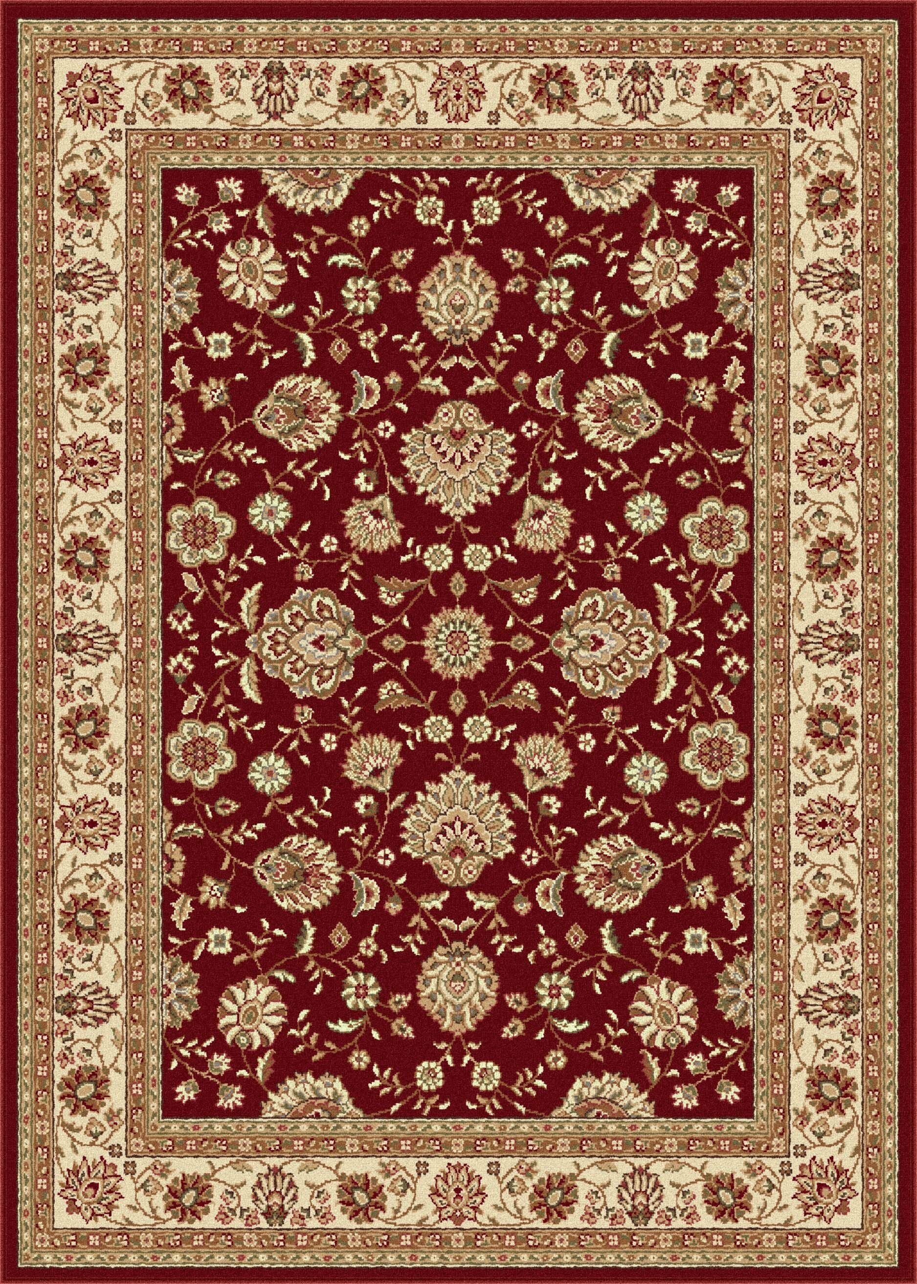 Lapp Red Area Rug Rug Size: 9'3'' x 12'6''