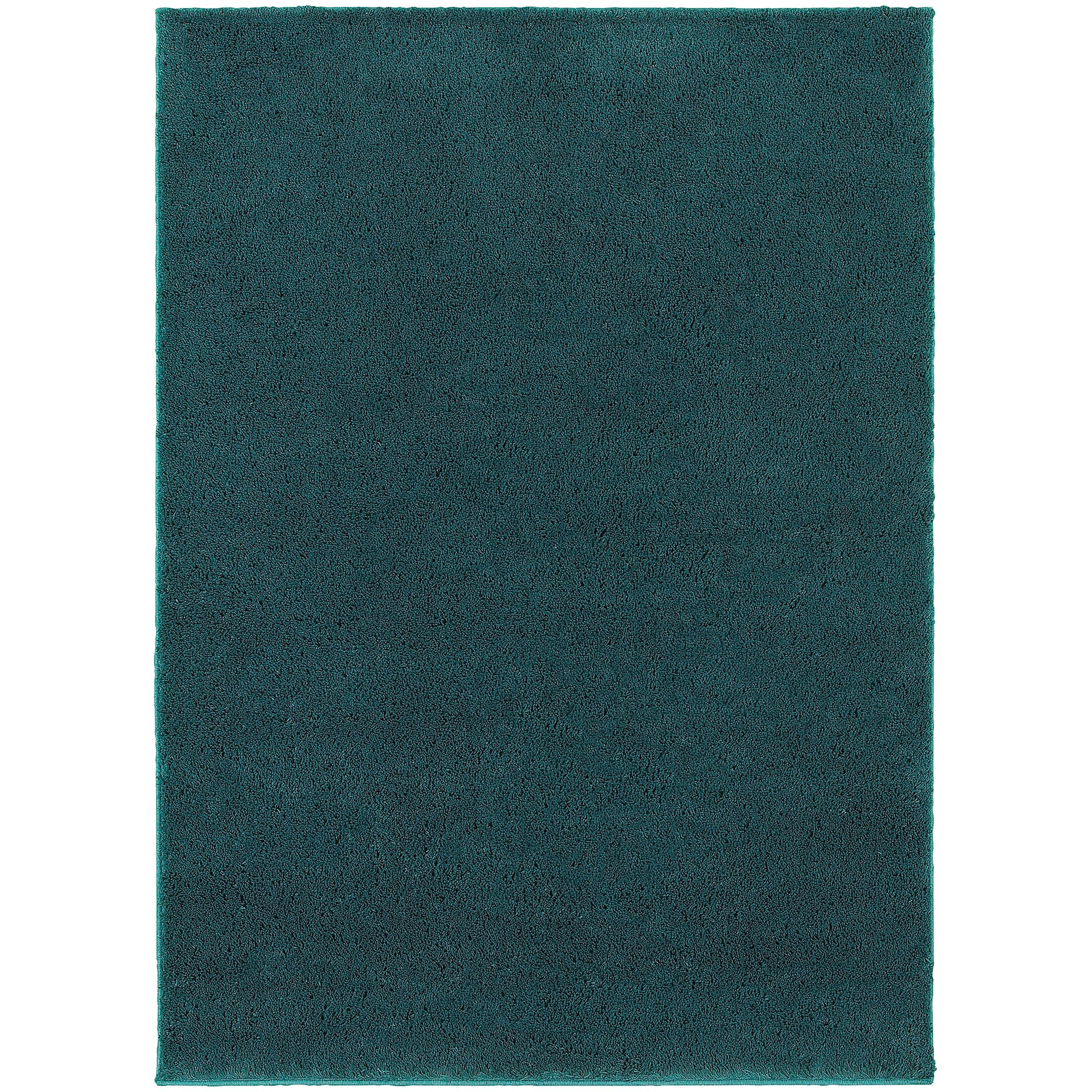 Hanson Teal Area Rug Rug Size: Rectangle 6'7