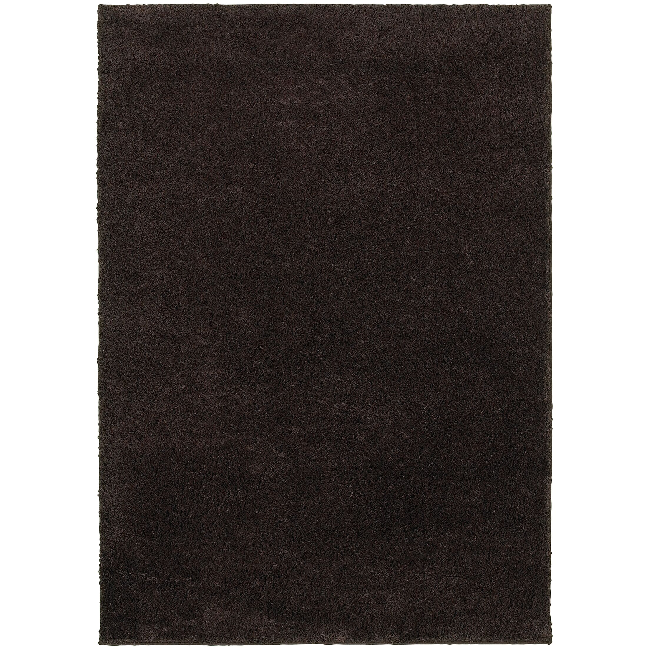 Hanson Brown Area Rug Rug Size: Rectangle 5'3