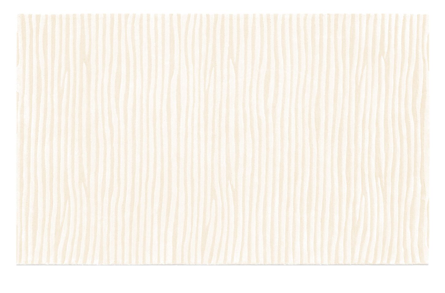 Fulton Hand-Tufted White Area Rug Rug Size: 5' x 8'
